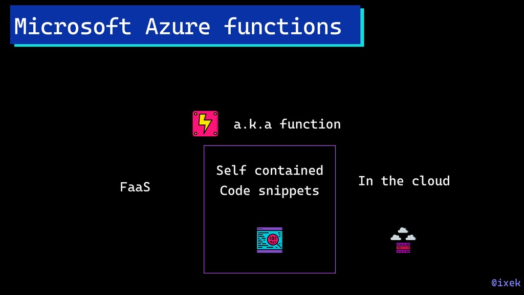 Microsoft Azure functions FaaS Self contained C...