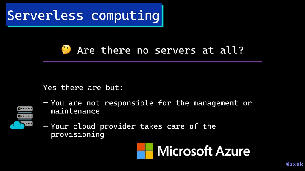 Serverless computing  Are there no servers at a...