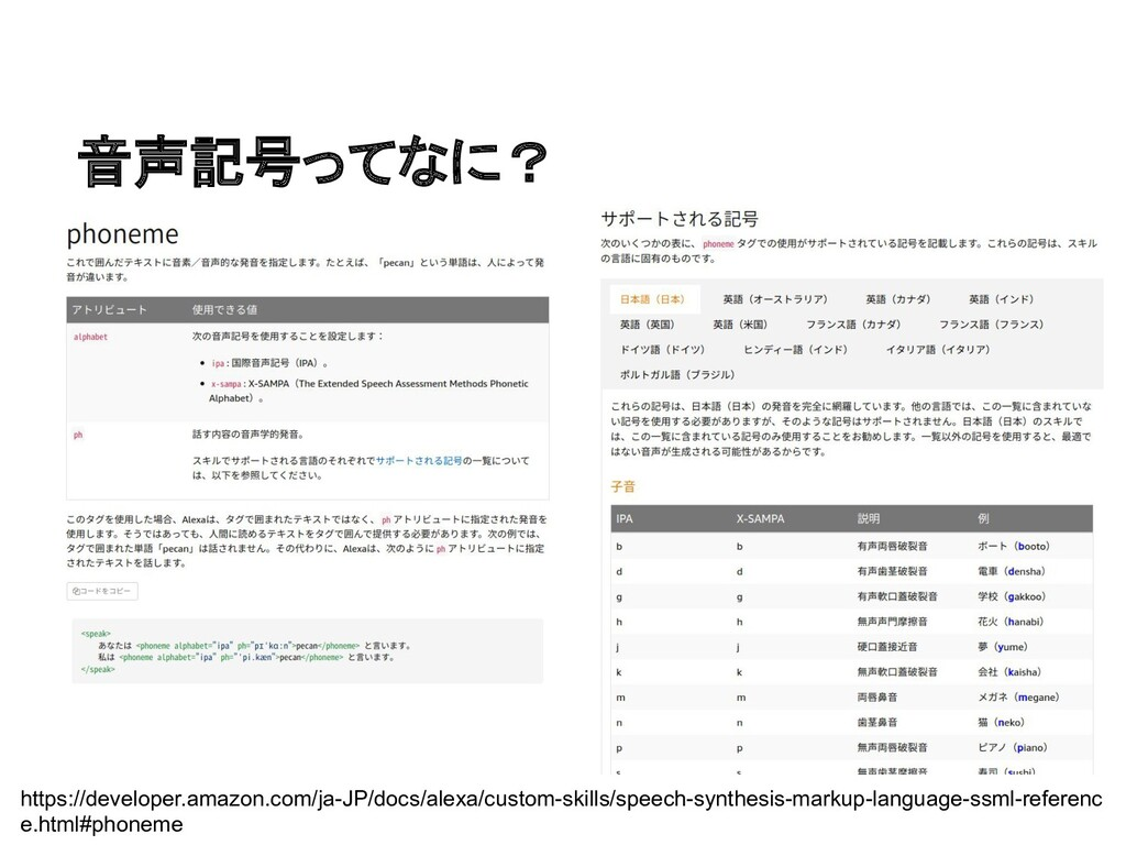 音声記号ってなに? https://developer.amazon.com/ja-JP/do...