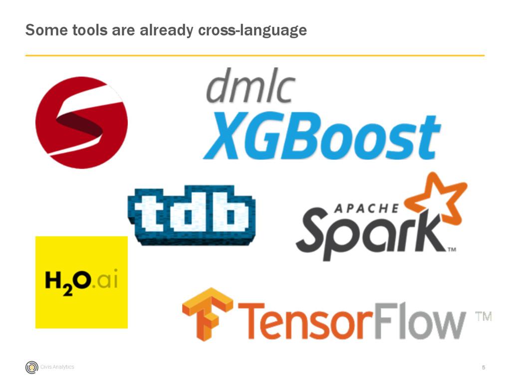 Civis Analytics Some tools are already cross-la...
