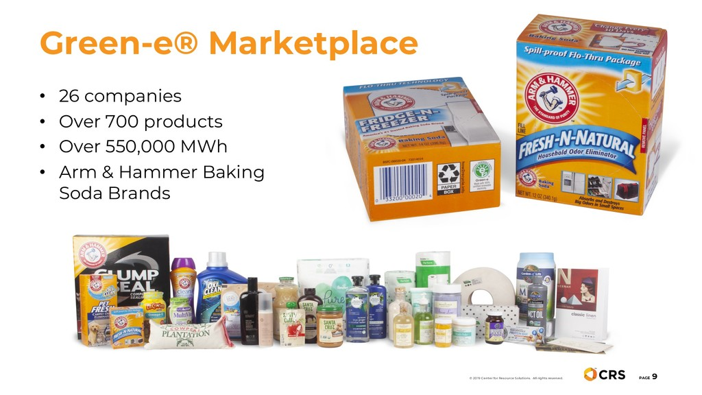 • 26 companies • Over 700 products • Over 550,0...