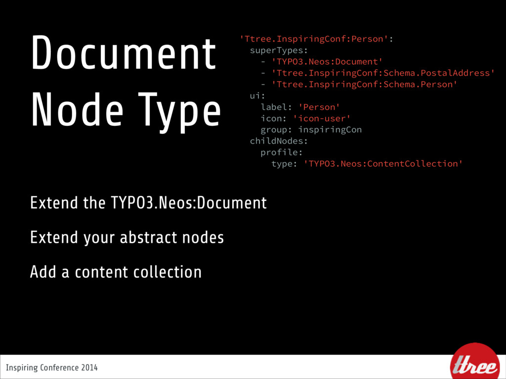 Inspiring Conference 2014 Document  Node Type ...