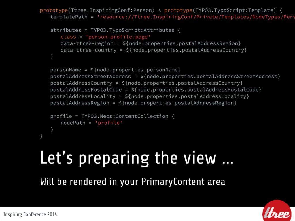 Inspiring Conference 2014 Let's preparing the v...