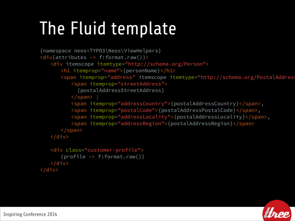 Inspiring Conference 2014 The Fluid template {n...