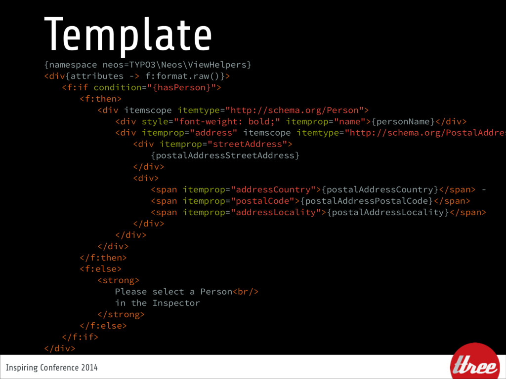 Inspiring Conference 2014 Template {namespace n...