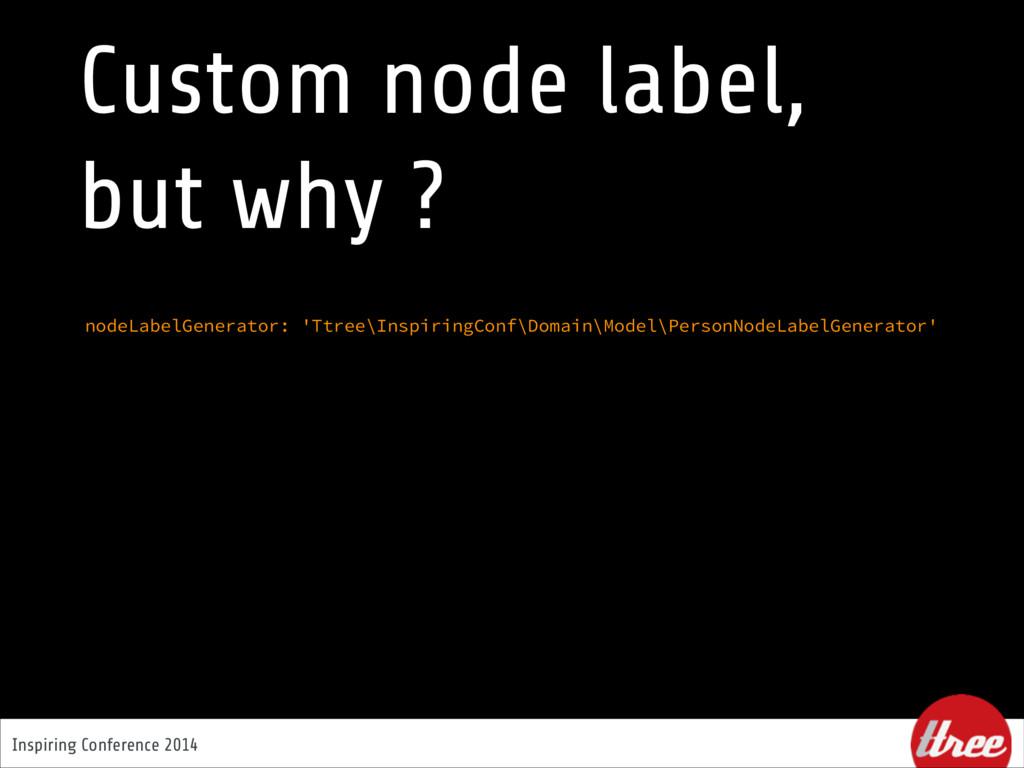 Inspiring Conference 2014 nodeLabelGenerator: '...