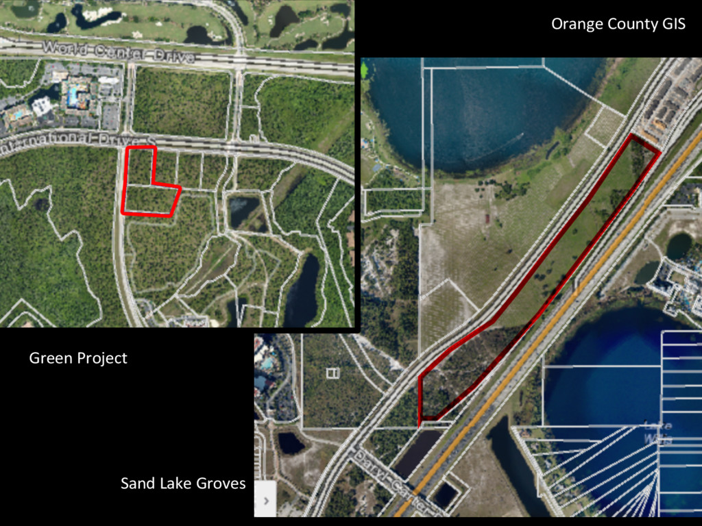 Green Project  Sand Lake Groves ...