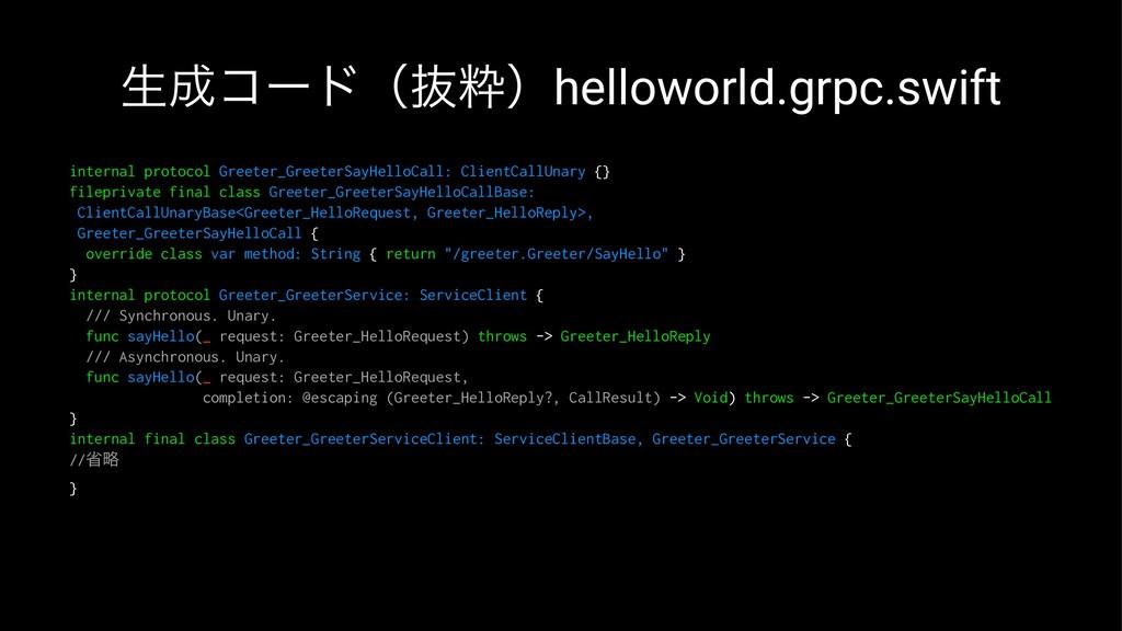 ੜίʔυʢൈਮʣhelloworld.grpc.swift internal protoco...