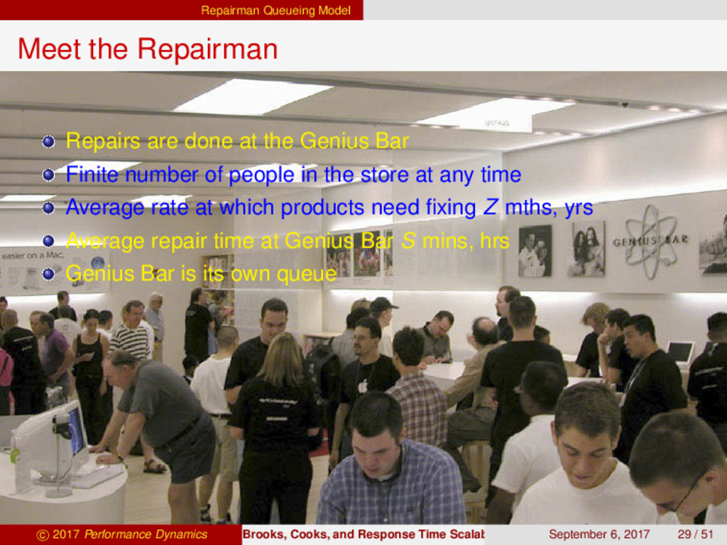 Repairman Queueing Model Meet the Repairman Rep...