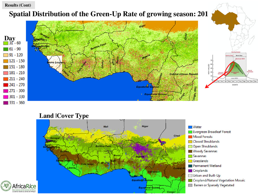 Spatial Distribution of the Green-Up Rate of gr...