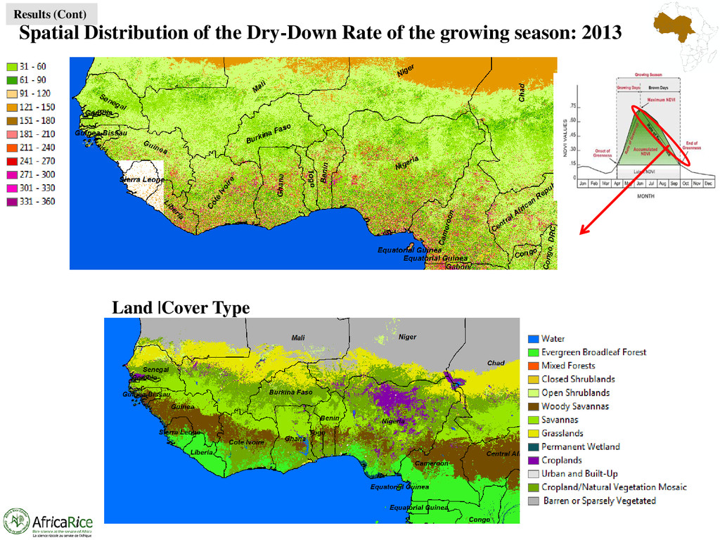 Spatial Distribution of the Dry-Down Rate of th...