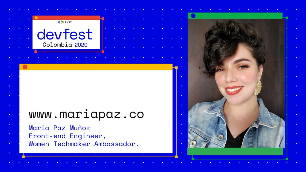 www.mariapaz.co Maria Paz Muñoz Front-end Engin...