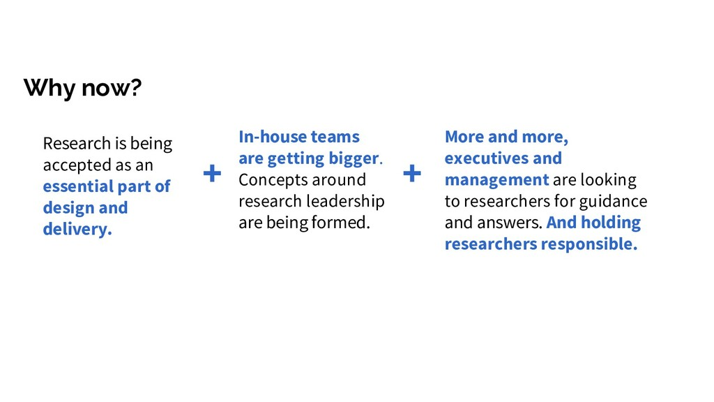 Why now? In-house teams are getting bigger. Con...