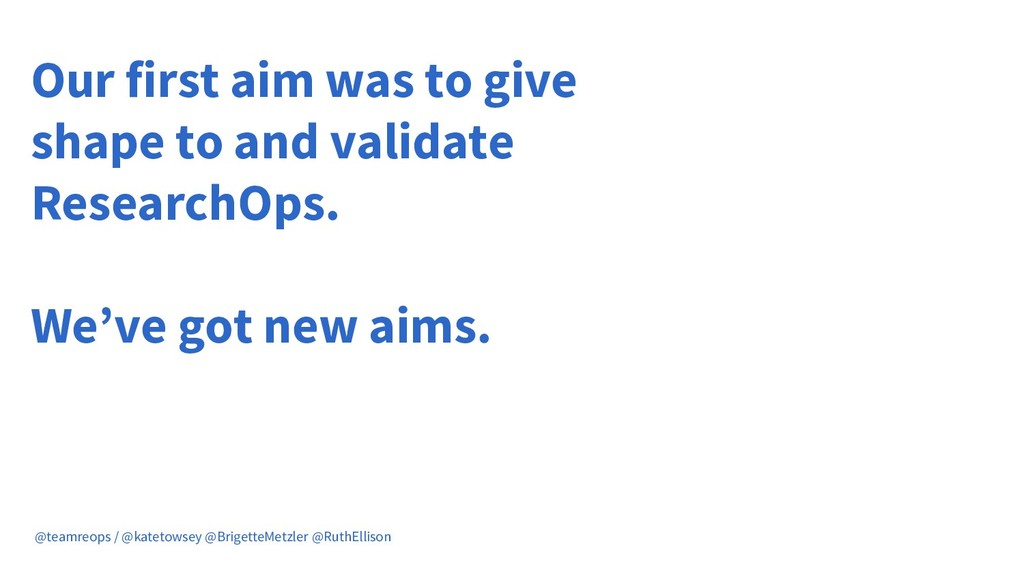 Our first aim was to give shape to and validate...