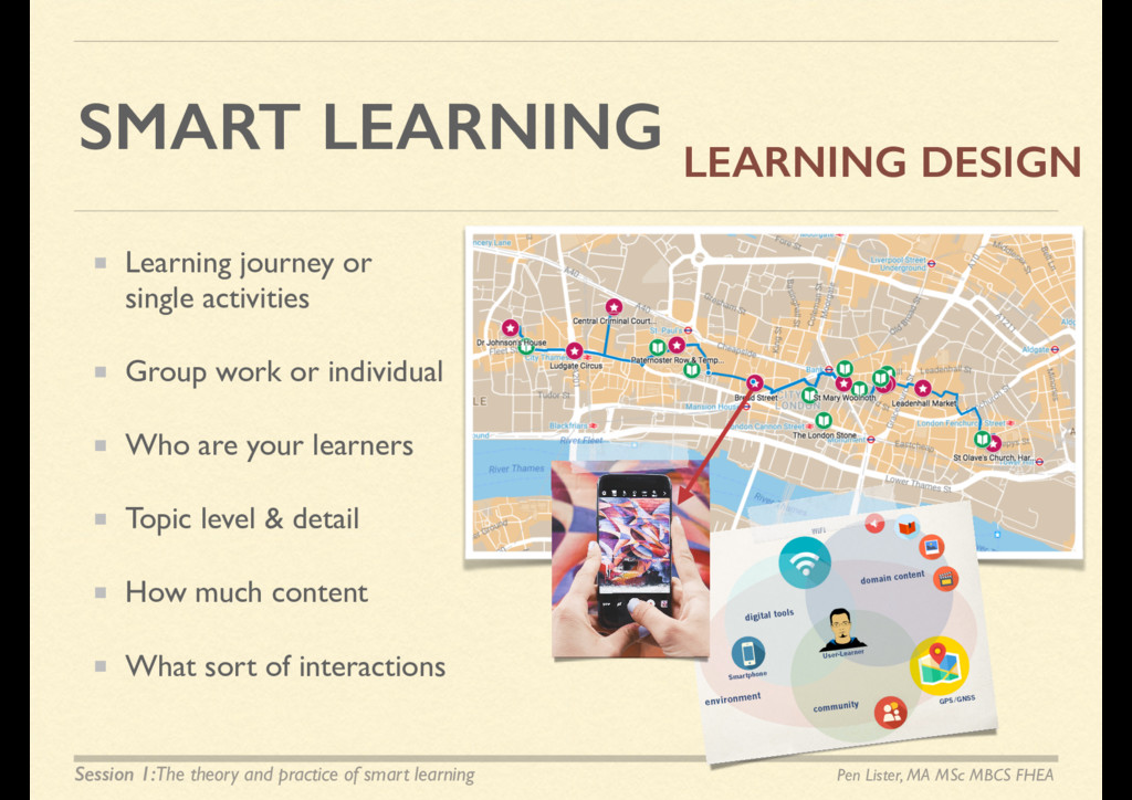 SMART LEARNING Learning journey or single activ...