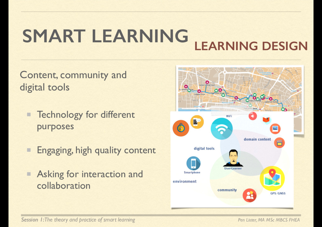 SMART LEARNING Technology for different purpose...