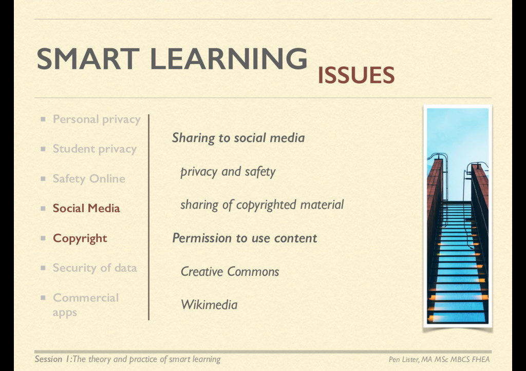SMART LEARNING ISSUES Sharing to social media p...