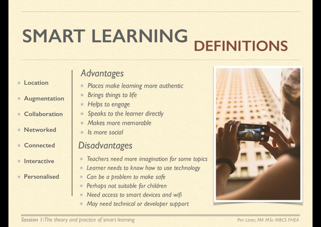 SMART LEARNING Location Augmentation Collaborat...