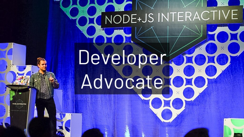 @JoeKarlsson1 Developer Advocate Developer Advo...