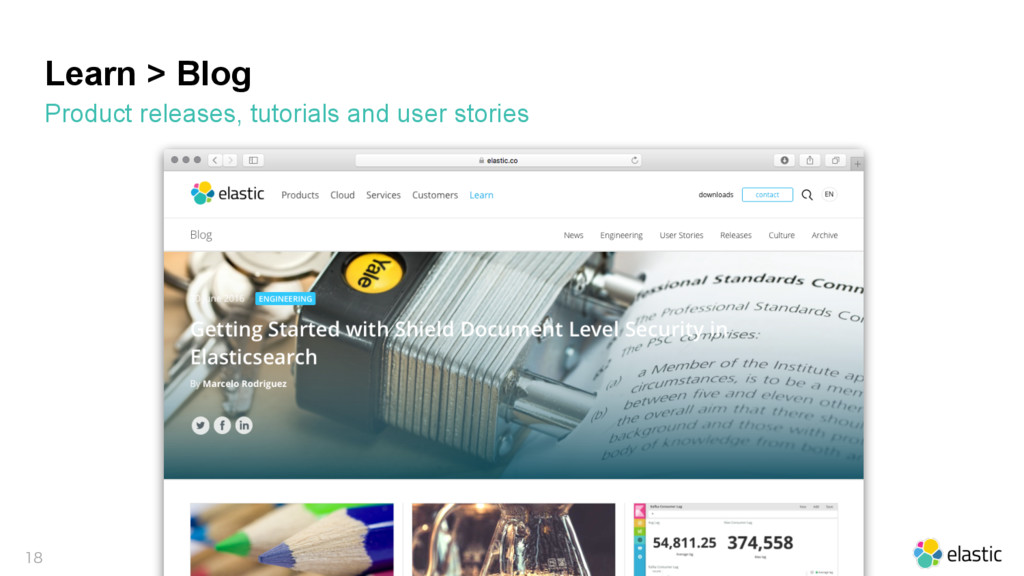 Learn > Blog Product releases, tutorials and us...