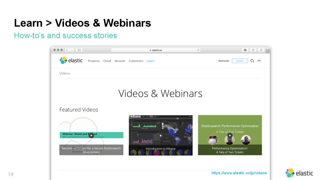 Learn > Videos & Webinars How-to's and success ...
