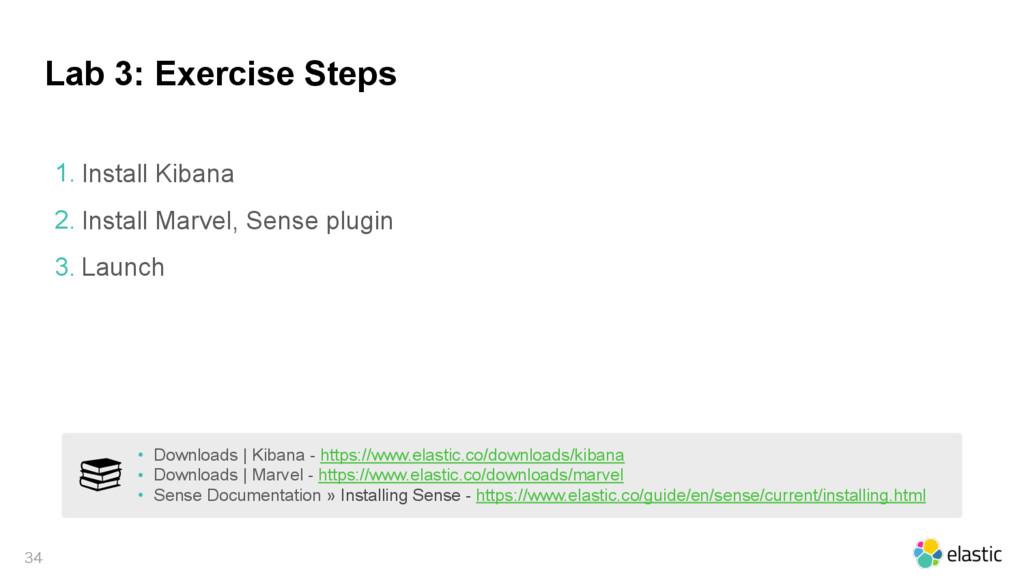 Lab 3: Exercise Steps  1. Install Kibana 2. I...