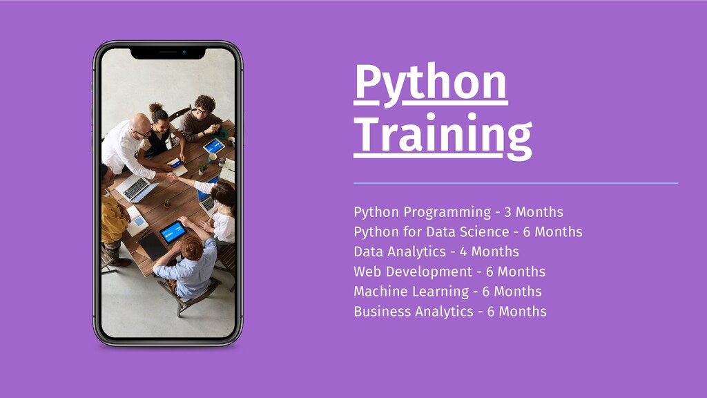 Python Training Python Programming - 3 Months P...