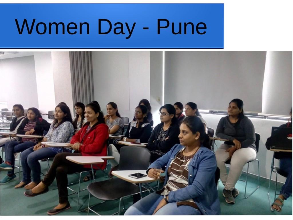 Women Day - Pune