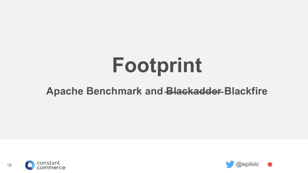 @epiloic 16 Footprint Apache Benchmark and Blac...