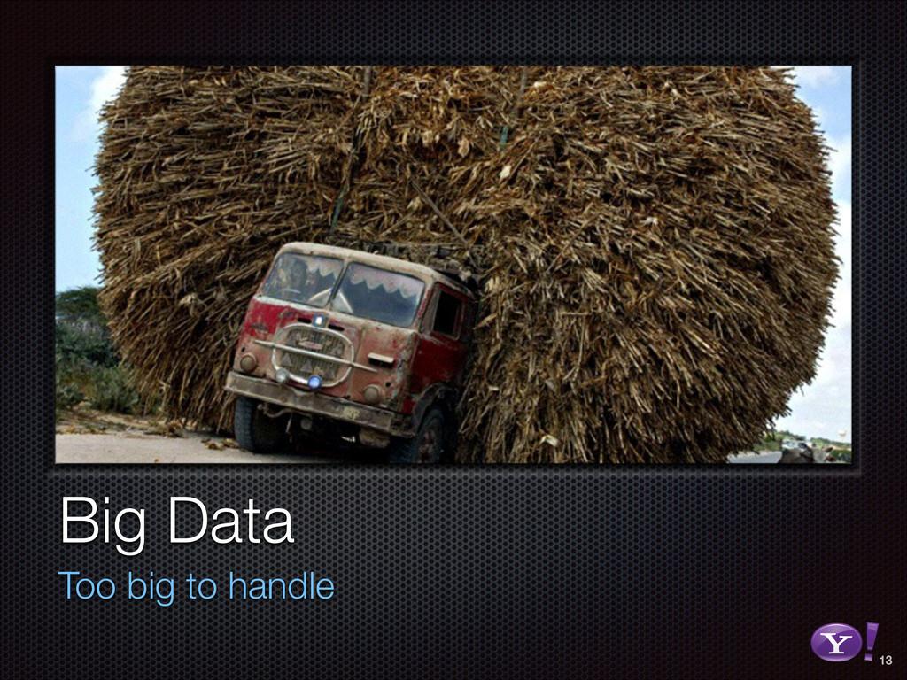 Big Data Too big to handle 13 RGB color version...