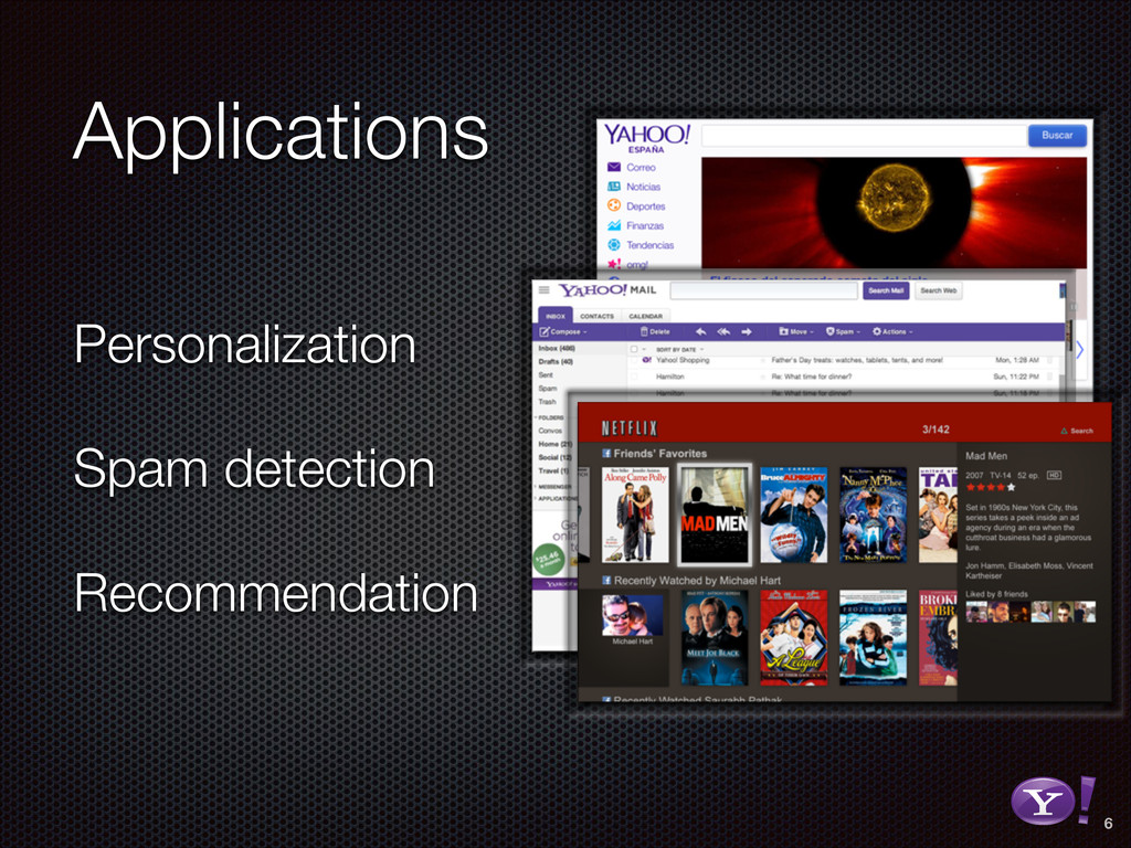 Personalization Spam detection Recommendation 6...