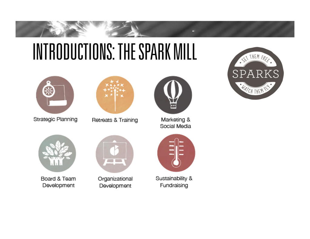 INTRODUCTIONS: THE SPARK MILL