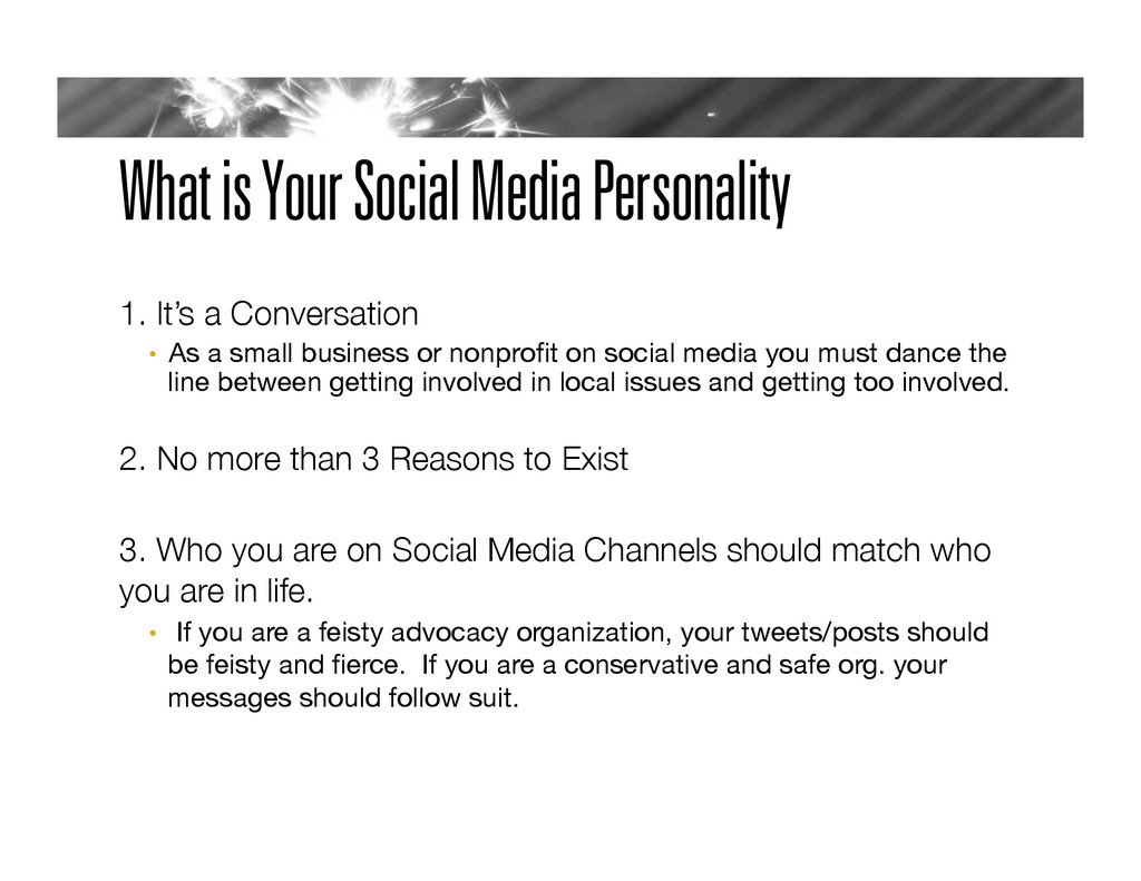 What is Your Social Media Personality 
