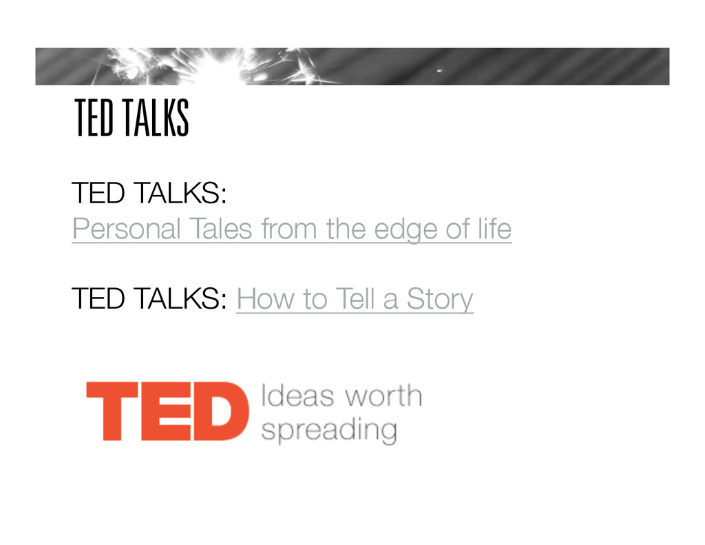 TED TALKS TED TALKS: Personal Tales from the ed...