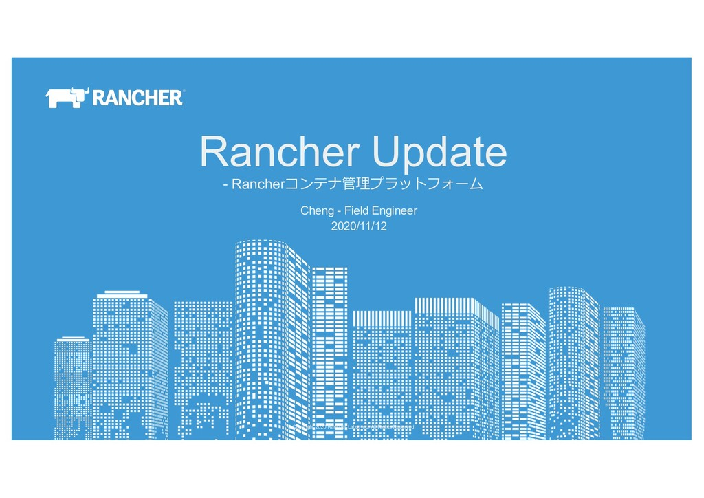 © Copyright 2020 Rancher Labs, Inc. All Rights ...