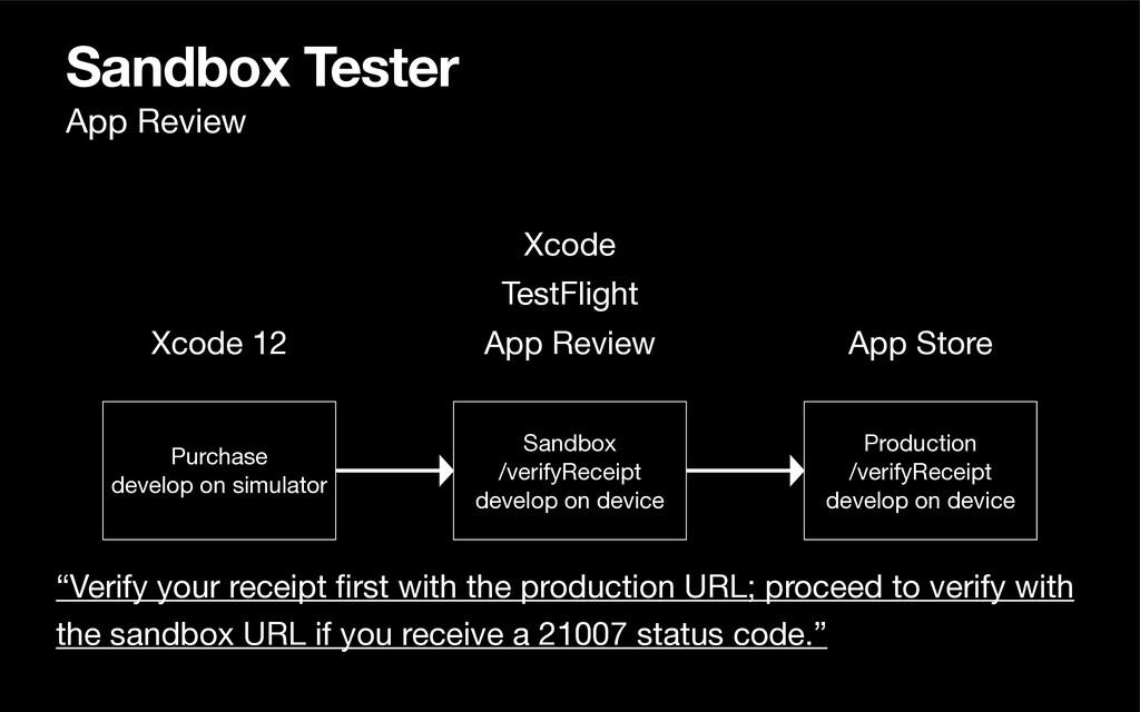 Sandbox Tester Xcode 12 App Review Purchase  de...