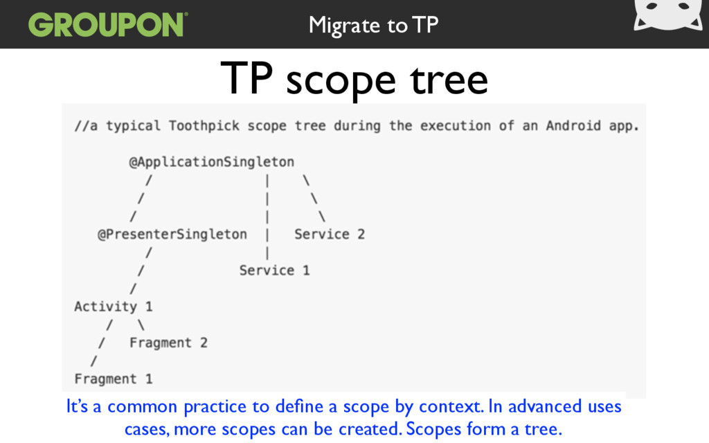 TP scope tree It's a common practice to define a...
