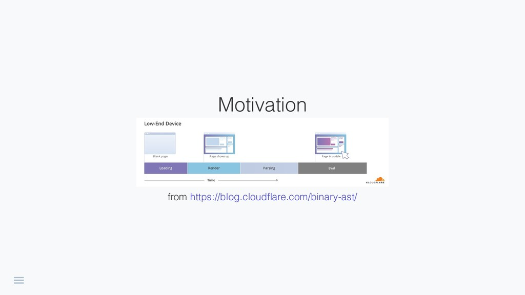 Motivation fromhttps://blog.cloudflare.com/bina...