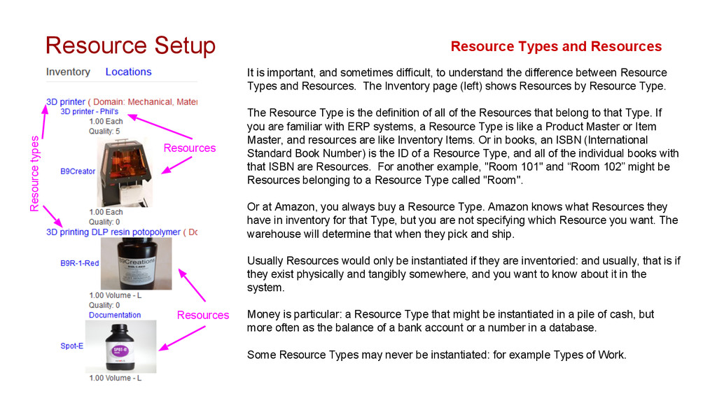 Resource Setup It is important, and sometimes d...
