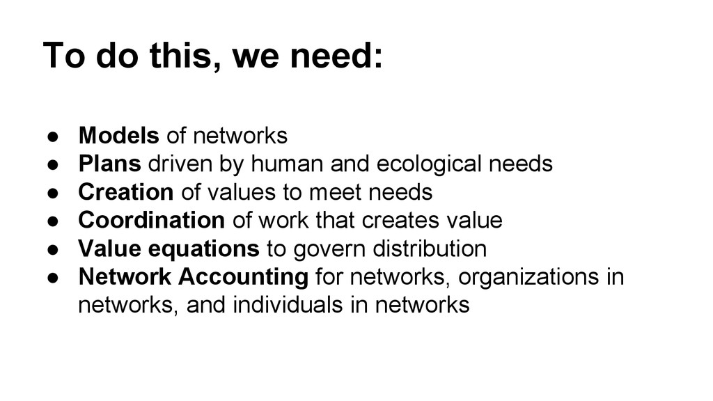 To do this, we need: ● Models of networks ● Pla...