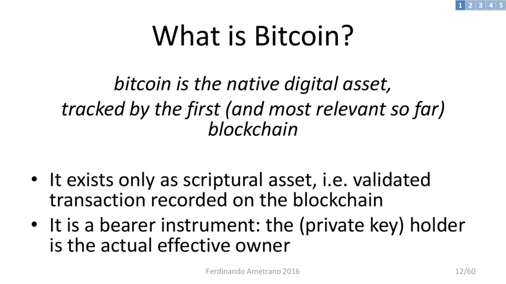 What is Bitcoin? bitcoin is the native digital ...