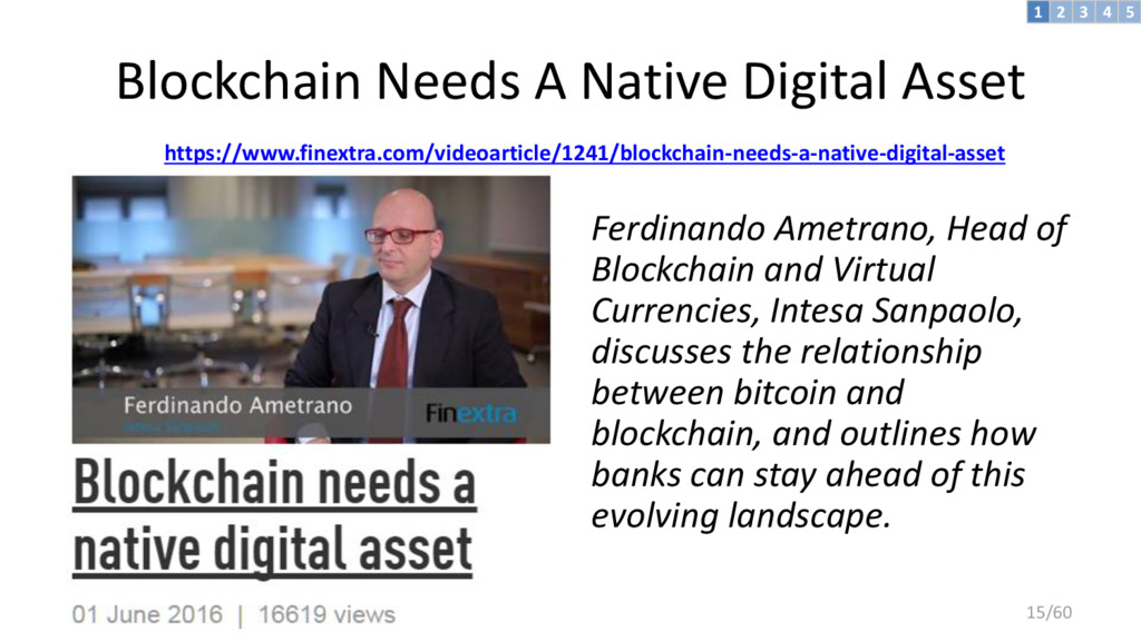 Blockchain Needs A Native Digital Asset https:/...