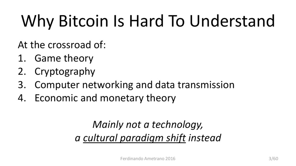 Why Bitcoin Is Hard To Understand At the crossr...