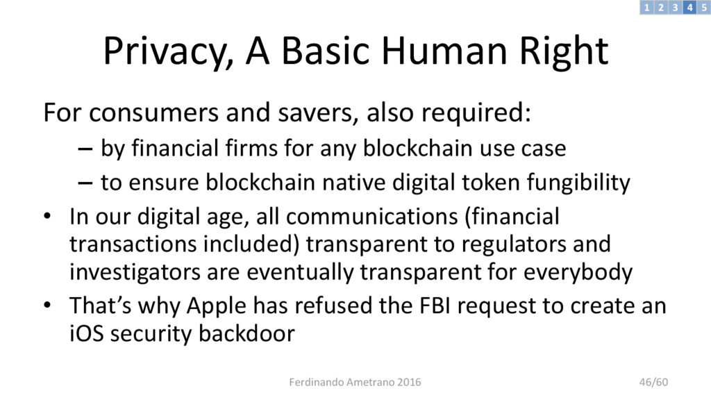 Privacy, A Basic Human Right For consumers and ...