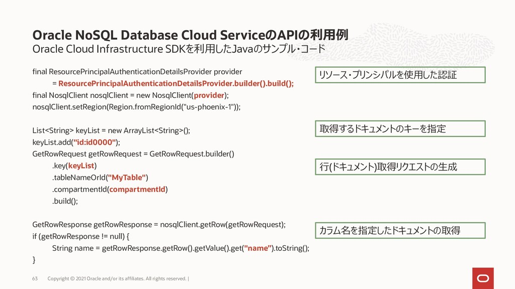 Oracle Cloud Infrastructure SDKを利用したJavaのサンプル・コ...