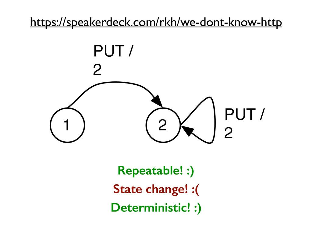 1 2 PUT / 2 PUT / 2 Repeatable! :) State change...