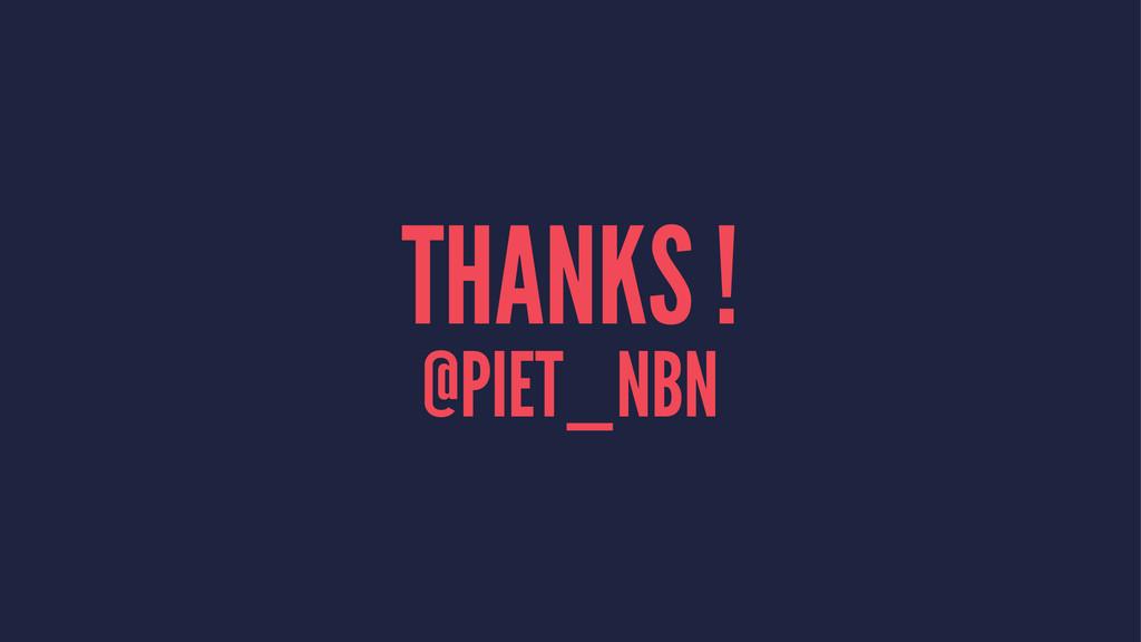 THANKS ! @PIET_NBN