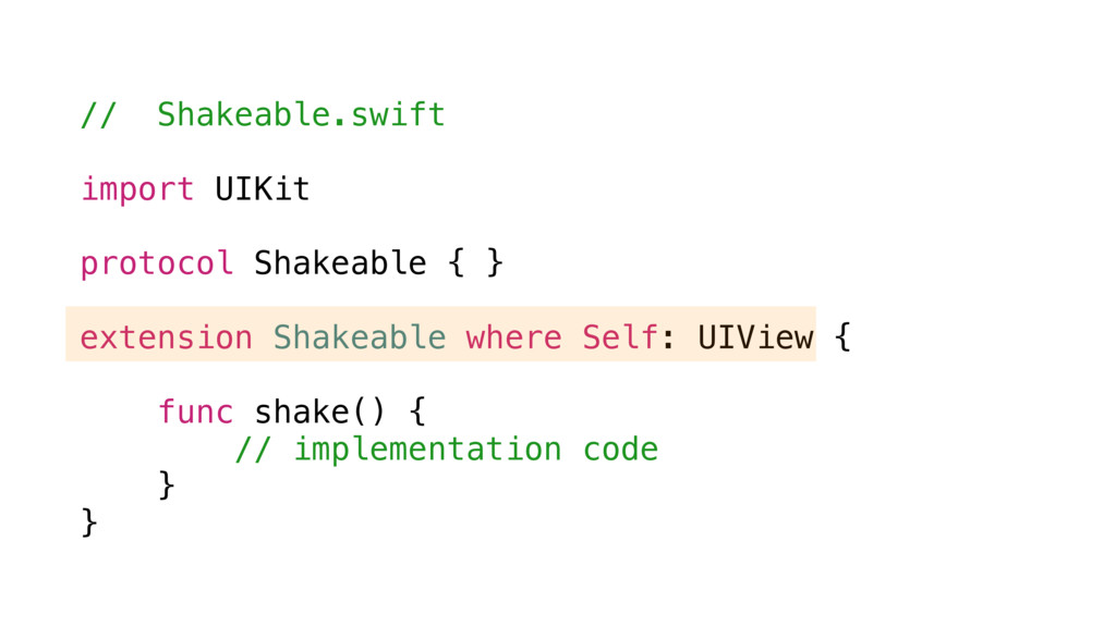 // Shakeable.swift import UIKit protocol Shakea...