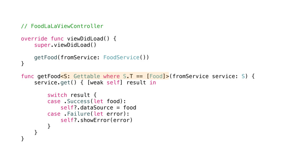 // FoodLaLaViewController override func viewDid...