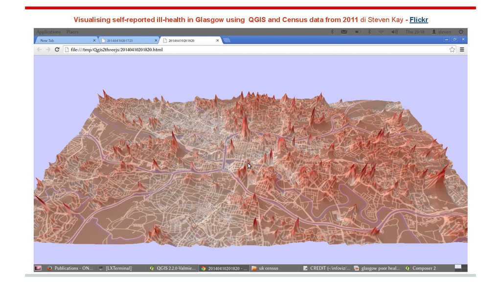 Visualising self-reported ill-health in Glasgow...